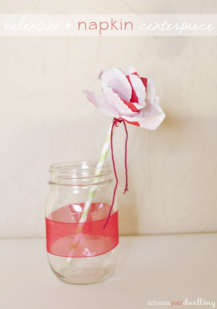 how to make flowers out of paper napkins