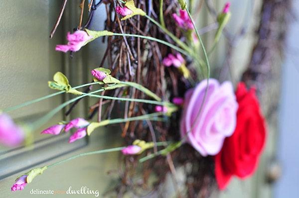 Valentines Day wreath 5