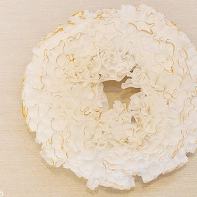 1 Coffee Filter Wreath