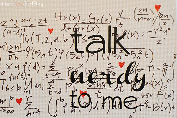 Talk Nerdy to me : Valentines Day
