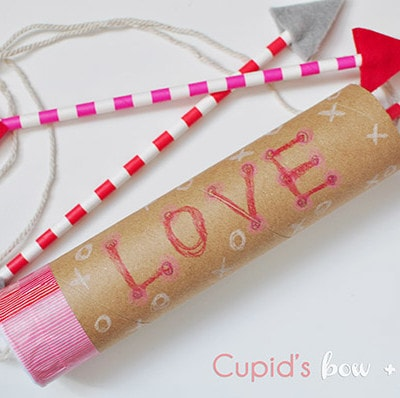 Cupid's Bow and Arrow craft