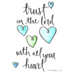 1 trust in the lord
