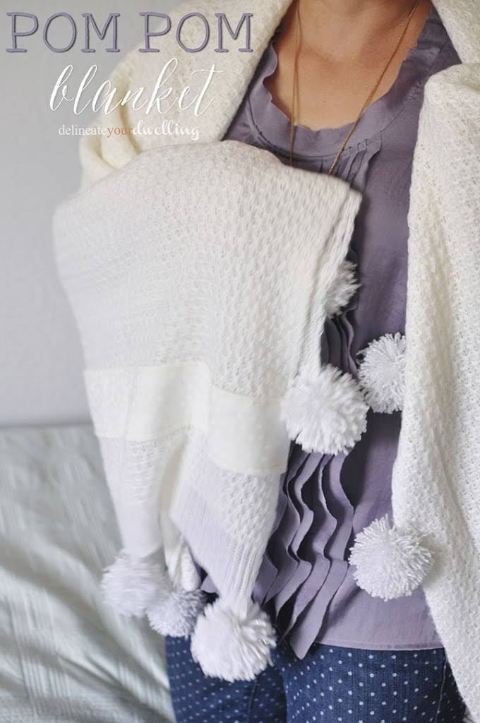 Pom Pom Throw Blanket Enchanting White Pom Pom Throw Blanket