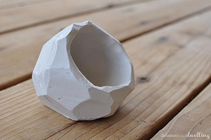Air Dry Clay Jar