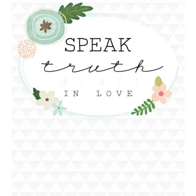 wallart-speaktruth