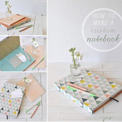 How to customize a notebook, Delineateyourdwelling.com