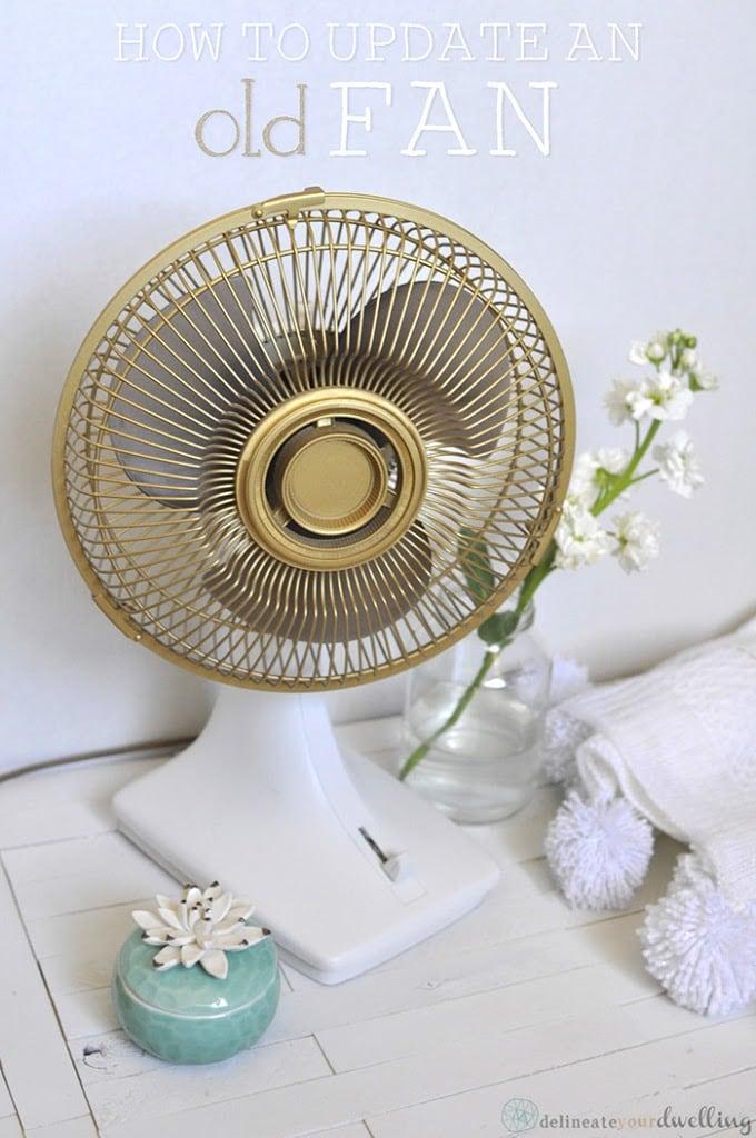 How to Update an old fan to a Gold Fan, Delineateyourdwelling.com