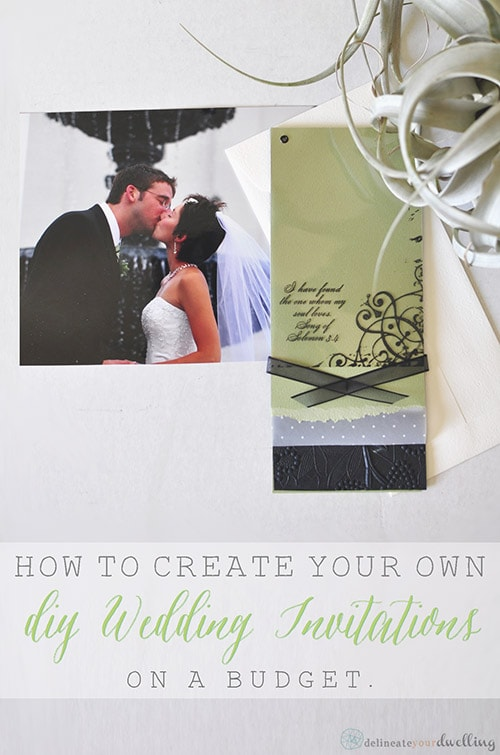 Picture Wedding Invitations on a budget