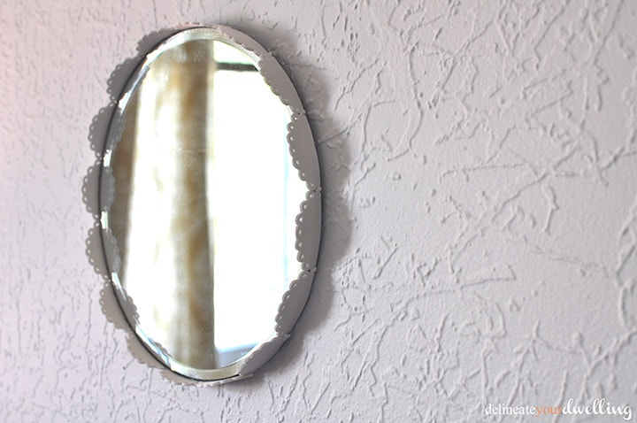 Decorative Mirror, Delineate Your Dwelling #clean #simple #white