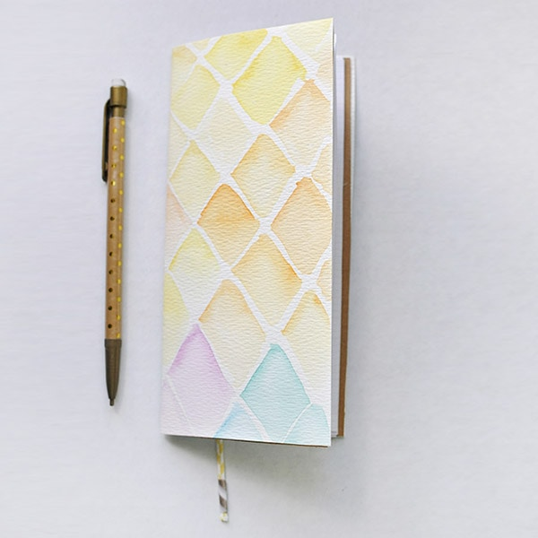 Simple Watercolor Notebook