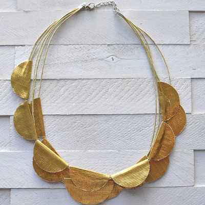 2 Gold Necklace, Delineate Your Dwelling