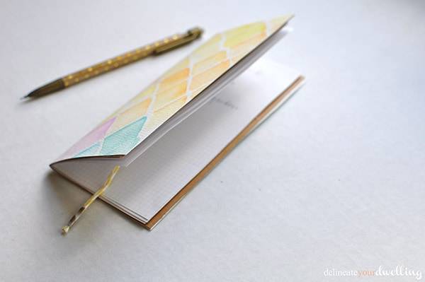 5 watercolor notebook | delineateyourdwelling.com