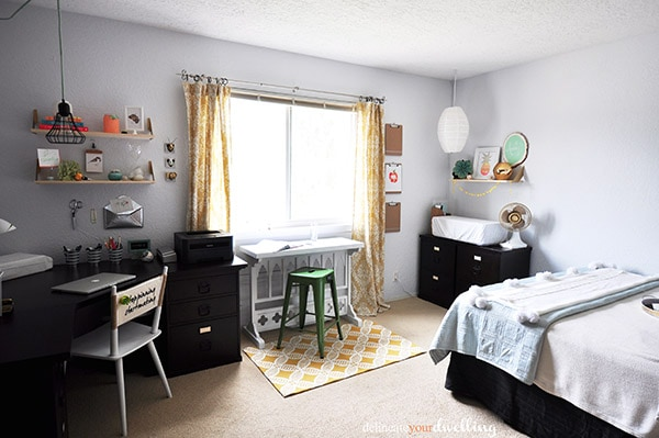 Guest Room + Office Makeover Reveal