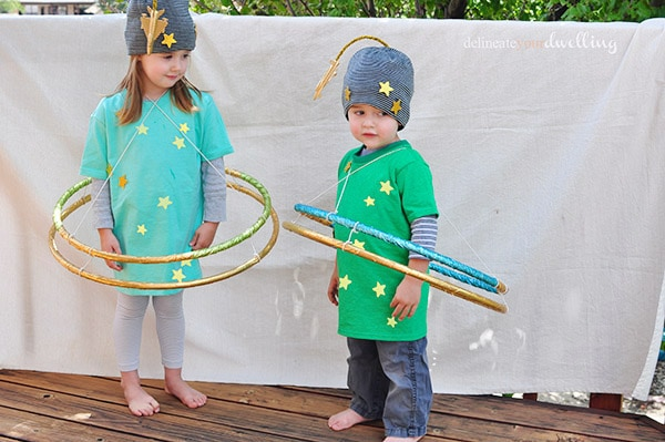 easy to make planet halloween costumes with hula hoops delineate your dwelling