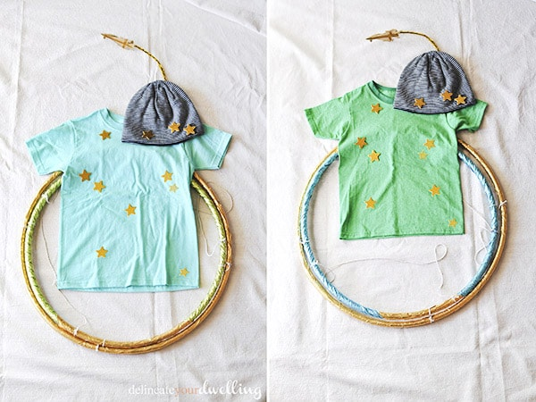 Learn how to make easy homemade, inexpensive and adorable DIY Planet Halloween Costumes for your kids this fall season! These are also great dress-up outfits for later, too. Delineate Your Dwelling #planetcostume #jupitercostume #kidhalloweencostume