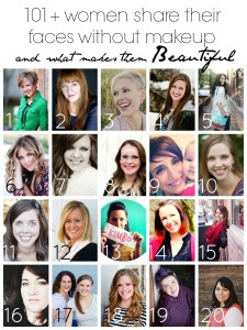 women sharing their natural beauty - no makeup