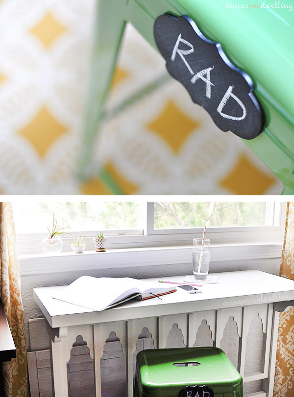 Giving your Craft and Printing Space an updated look! Delineate Your Dwelling #craftroom