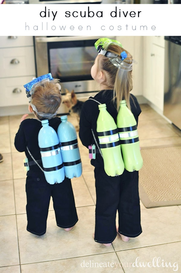 Scuba Diver Costume for your children
