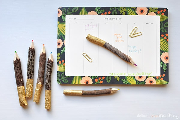 Dipped Pencils, Delineate Your Dwelling