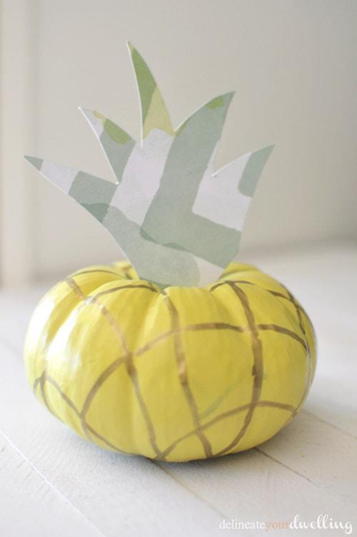 Easy Fruit Pineapple Pumpkin