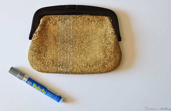 Fabric Clutch stripes, Delineate Your Dwelling