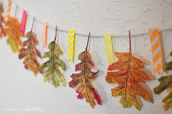 Leaf Garland, Delineate Your Dwelling