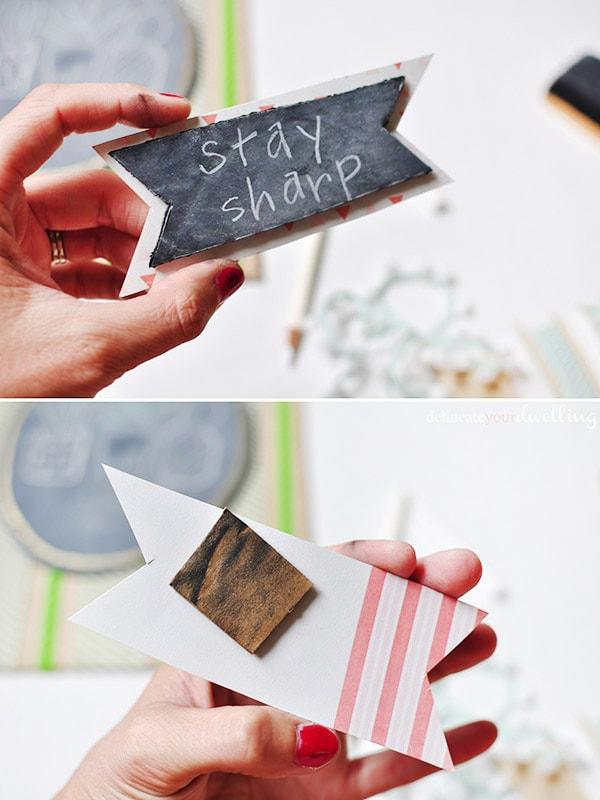 Stay Sharp succulent art step3