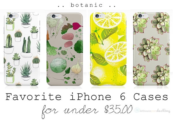 Favorite iPhone 6 cases, Delineateyourdwelling.com