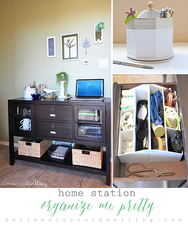 Home Station Organize Me Pretty Hour Tour, Delineate Your Dwelling #OrganizeMePretty