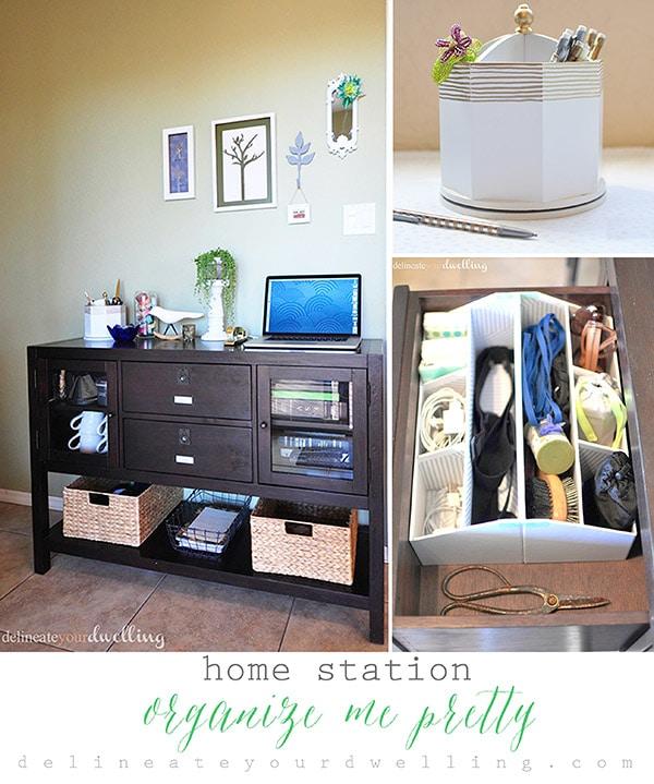 Home Station Organize Me Pretty Hour Tour, Delineate Your Dwelling #OrganizeMePretty