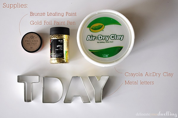 Clay TDAY supplies