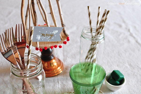 Holiday Gathering details, Delineateyourdwelling.com