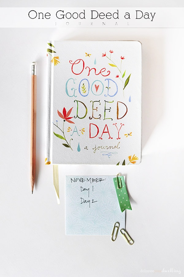 One Good Deed a Day book