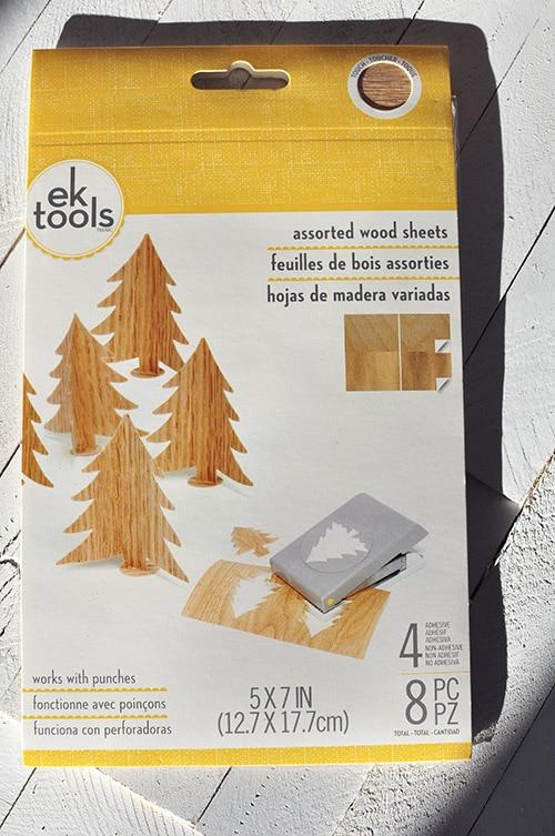 Rustic Christmas Tree Wood Sheets
