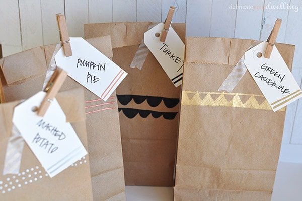 Tday Leftover bag package, Delineateyourdwelling.com