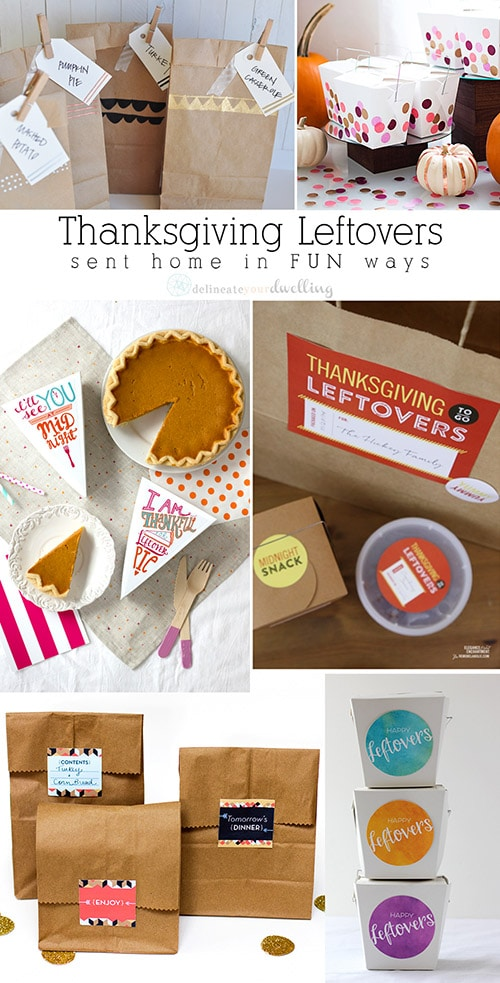 Thanksgiving Leftover packages, Delineateyourdwelling.com