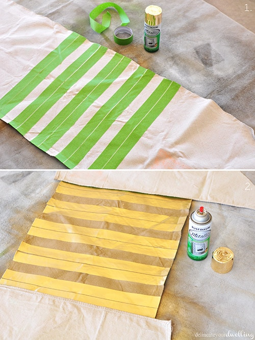 DIY a Thanksgiving Table Runner