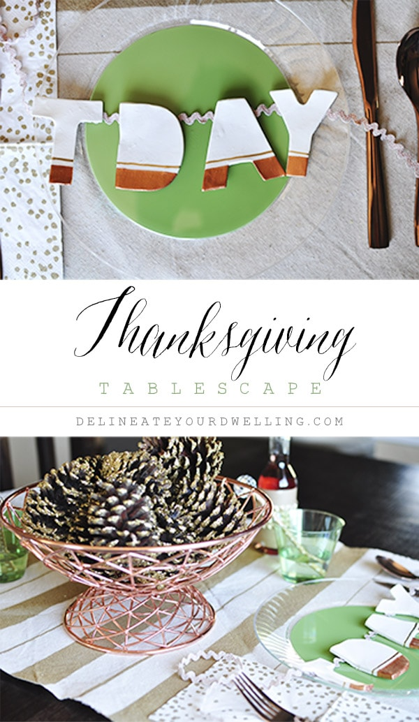 Thanksgiving Tablescape Rustic Decor