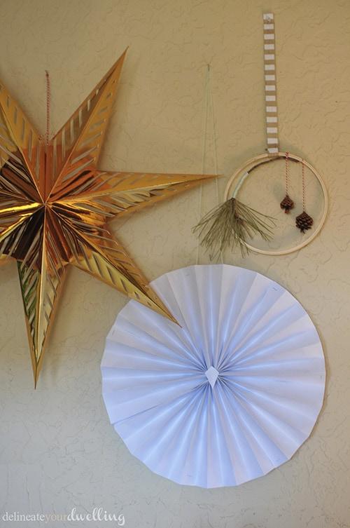 Christmas Pinwheels, Delineateyourdwelling.com
