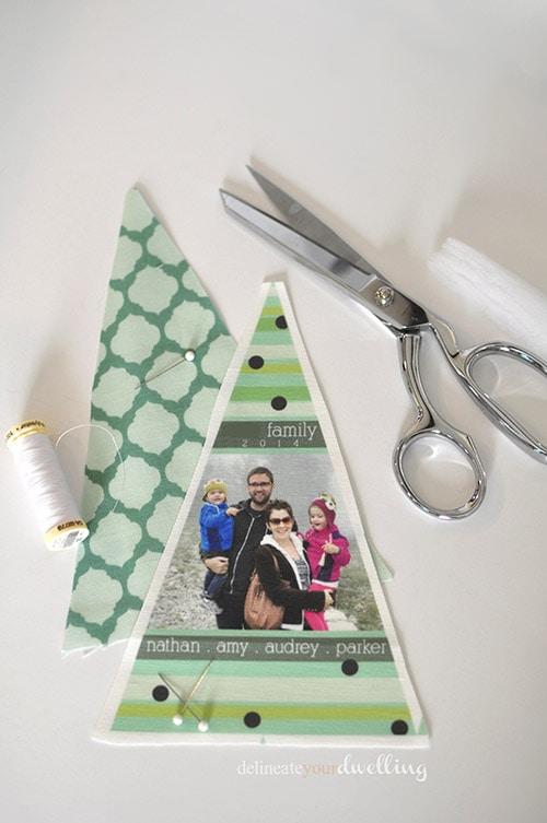Fabric Ornament cut