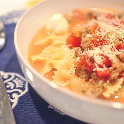 Lasagna Soup, Delineateyourdwelling.com
