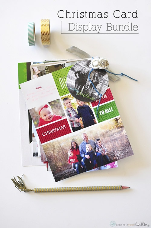 Christmas Card Display bundle