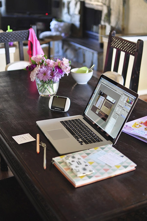 The real mess behind a Craft Blogging Mom! Delineate Your Dwelling