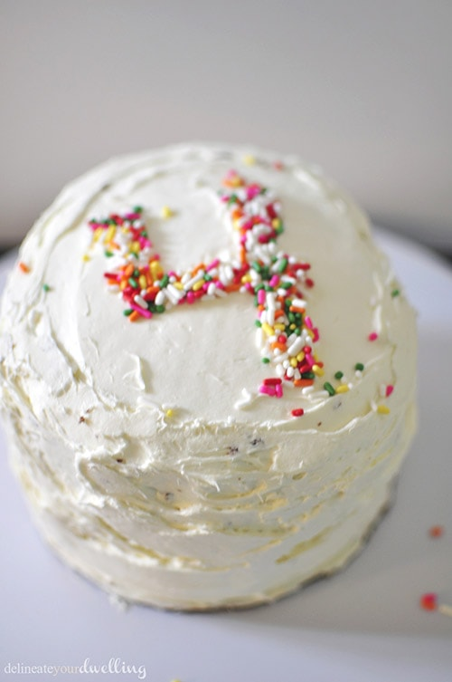 Fourth Sprinkle Cake