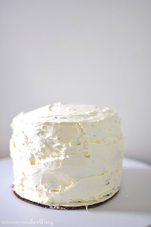 Frosting Cake tip, Delineateyourdwelling.com