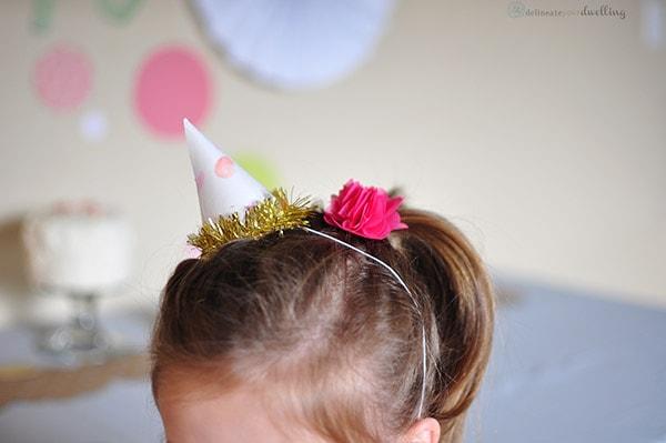 Birthday Sprinkle Hat, Delineateyourdwelling.com