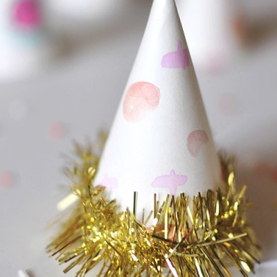 Sprinkle Birthday Party Hats, Delineateyourdwelling.com