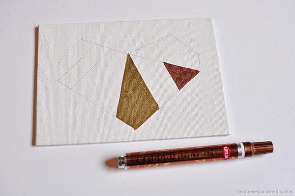 geometric heart step