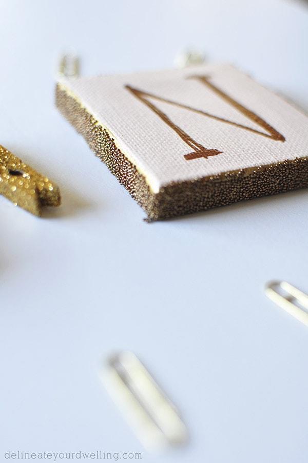 Copper Letter Sign N