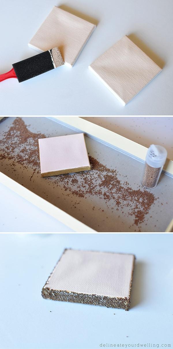 Copper Letter Sign steps
